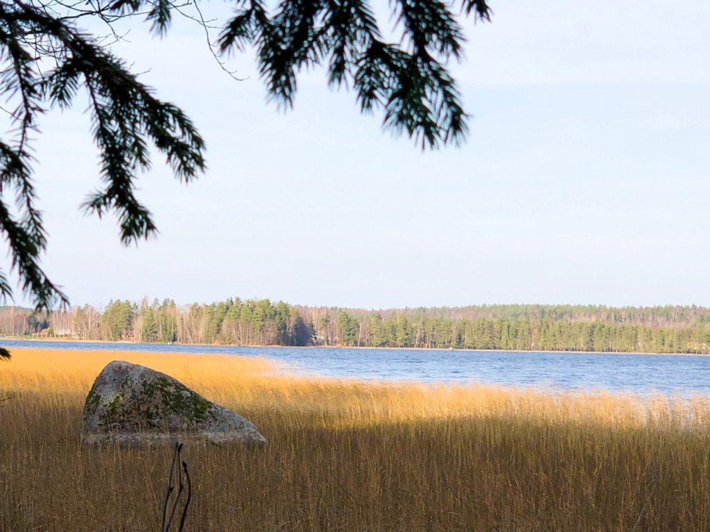 Участки у озера